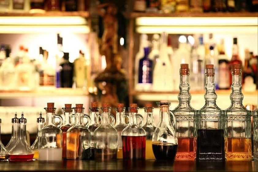 Пиво, вино и спиртные напитки