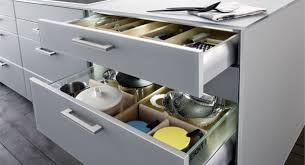 Шкафы и ящики на кухне